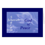 Names of God Scripture collection Greeting Card