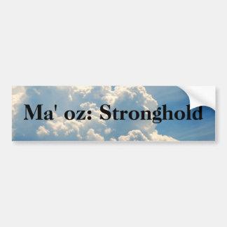 Names of GOD w/Meaning - Ma'oz Car Bumper Sticker