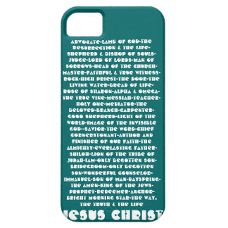 Names of Jesus iPhone 5 Case