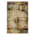 NAMES OF JESUS CHRIST - Christian Art Posters