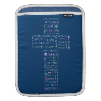 Names of Jesus Cross Sleeve For iPads