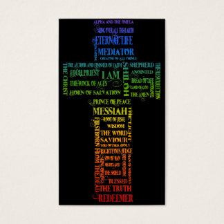 Names of Jesus/ Eph 2: 1-10 Gospel tract Business Card