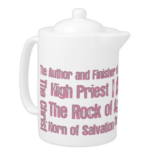 Names of Jesus Teapot