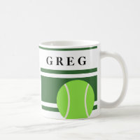 Names On Tennis Mugs