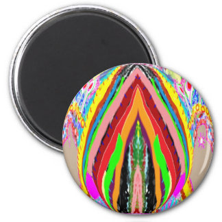 NAMESTE  -  Flame of Love Decorations 2 Inch Round Magnet