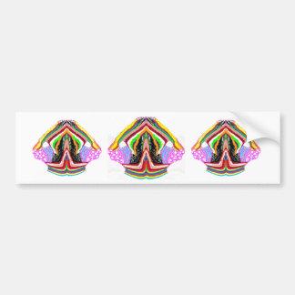 NAMESTE  -  Flame of Love Decorations Car Bumper Sticker