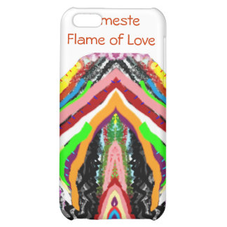 NAMESTE - Flame of Love Decorations Cover For iPhone 5C