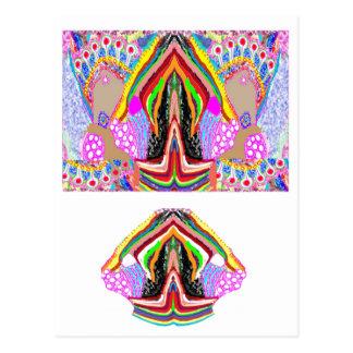 NAMESTE  -  Flame of Love Decorations Postcard