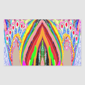 NAMESTE  -  Flame of Love Decorations Rectangular Sticker