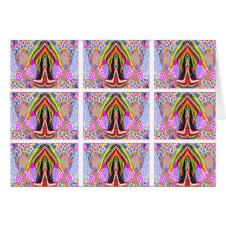 Nameste Illuminating Lamps : ART101 Tiled Patterns Card