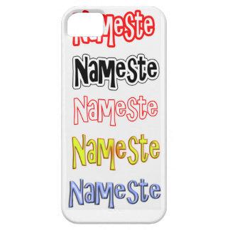 Nameste NAMESTE Hindi Indian  Hello  Bow iPhone SE/5/5s Case