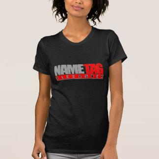 Nametag Alexander T-Shirt Ladies (Black)