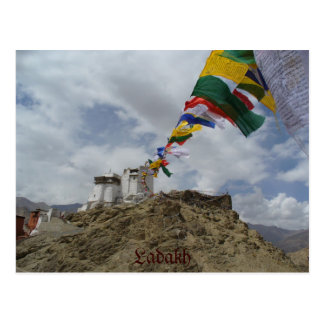 Namgyal Tsemo gompa, Leh, Ladakh, India Postcard