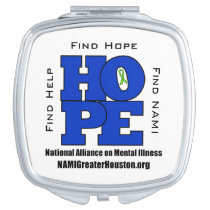 NAMI Greater Houston HOPE Compact Mirror