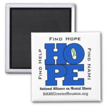 NAMI Greater Houston HOPE Magnet