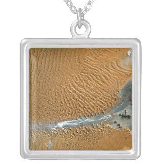 Namib Desert, Namibia Silver Plated Necklace