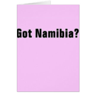 Namibia 'Africa'  T-Shirt and etc Greeting Card