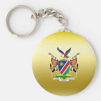 Namibia Coat of Arms Basic Round Button Keychain