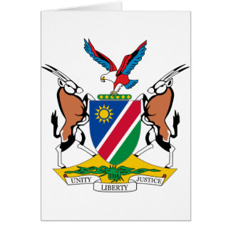 Namibia Coat of Arms Cards
