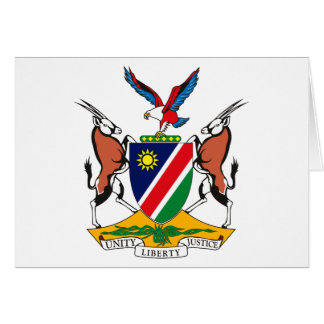 Namibia Coat of Arms Greeting Card
