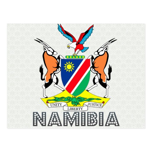 Namibia Coat of Arms Postcard
