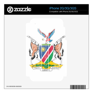 Namibia Coat Of Arms iPhone 2G Skin
