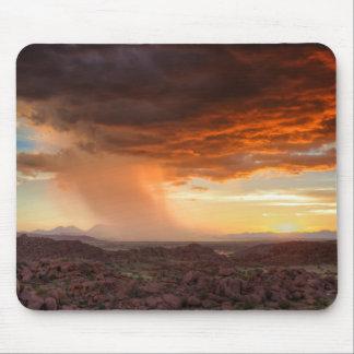 Namibia - Damaraland thunderstorm mousepad