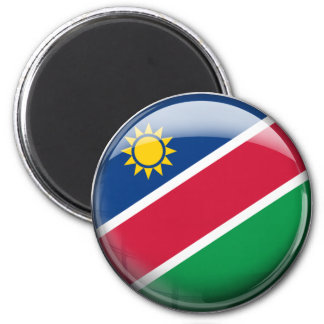 Namibia Flag 2 Inch Round Magnet