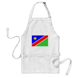 Namibia flag apron