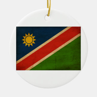 Namibia Flag Ceramic Ornament
