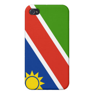 Namibia Flag iPhone 4 Cover