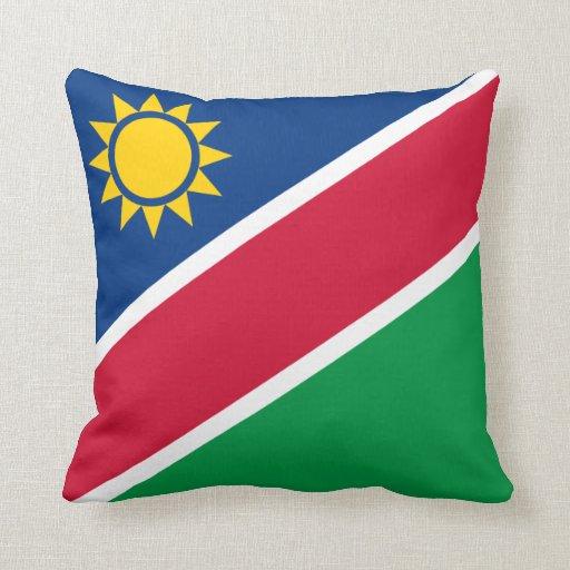 Namibia Flag pillow