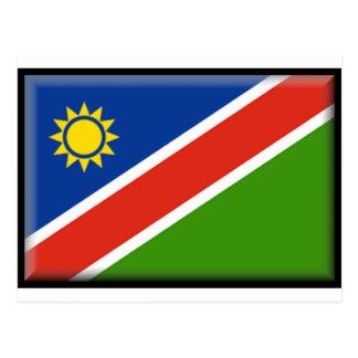 Namibia Flag Postcard