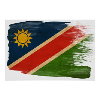 Namibia Flag Posters