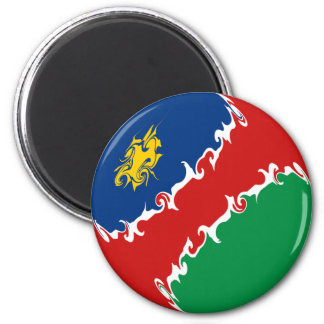 Namibia Gnarly Flag Fridge Magnet