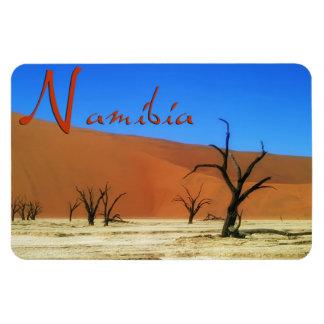 Namibia Imán Foto Rectangular
