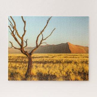Namibia Jigsaw Puzzle - Sossusvlei sand dunes