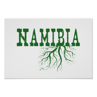 Namibia Roots Poster