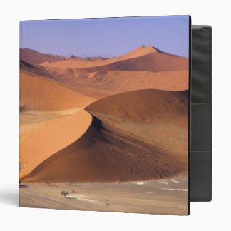 Namibia: Sossuvlei Dunes, Aerial scenic. 3 Ring Binder