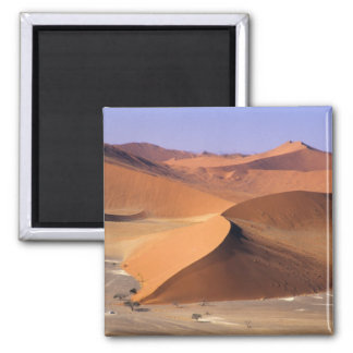 Namibia: Sossuvlei Dunes, Aerial scenic. Refrigerator Magnet