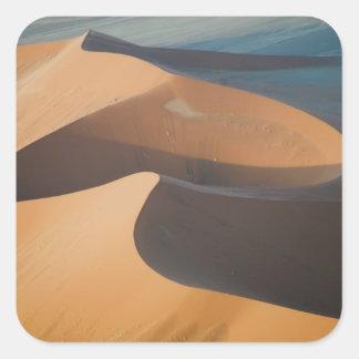 Namibia, Soussevlei, grandes dunas de arena rojas, Pegatinas Cuadradas