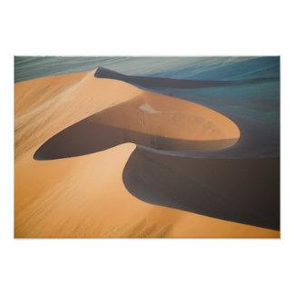 Namibia, Soussevlei, Great Red Sand Dunes, Photo Print