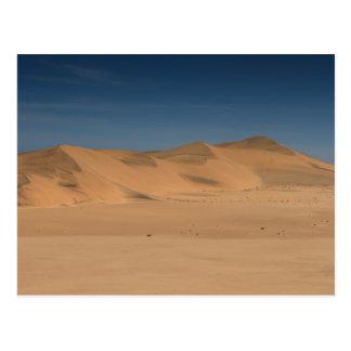 Namibia - Yellow Namib desert dunes Post Cards
