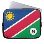 Namibian flag Laptop Sleeve