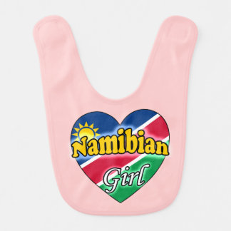 Namibian Girl Baby Bib