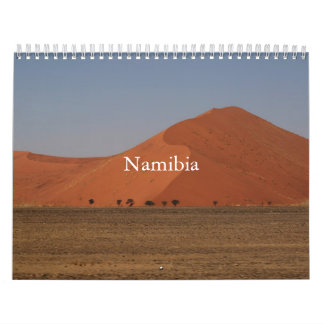 Namibian Printed Calendar
