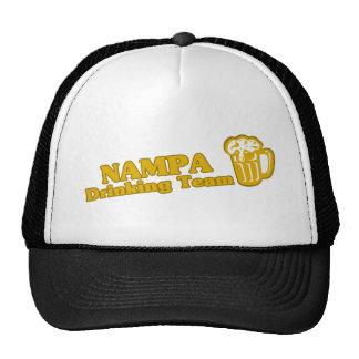 Nampa Drinking Team tee shirts Trucker Hats
