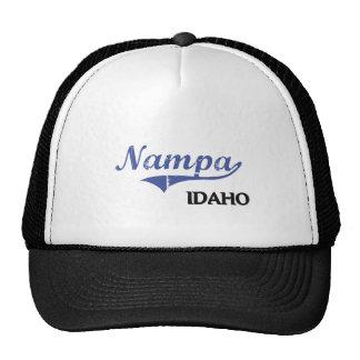 Nampa Idaho City Classic Mesh Hats