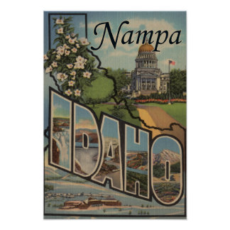 Nampa, IdahoLarge Letter ScenesNampa, ID Poster