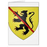 Namur Arms, Belgium Greeting Card